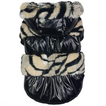 Abrigo Fashion zebra
