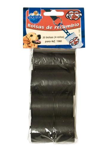 Bolsas higiénicas para perros