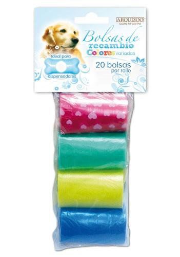 Bolsas higiénicas para mascotas