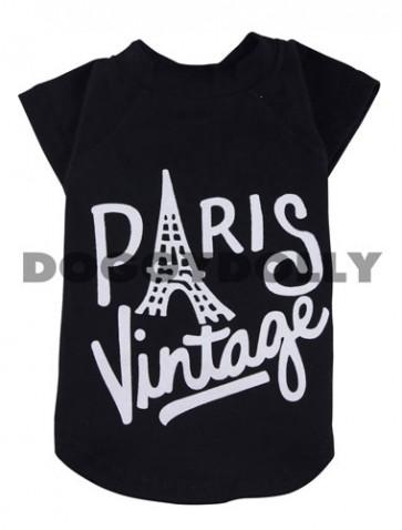 """Camiseta para perro """"Paris Vintage"""""""