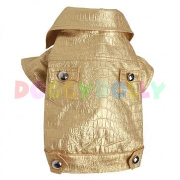 Cazadora para perro Golden Glamour