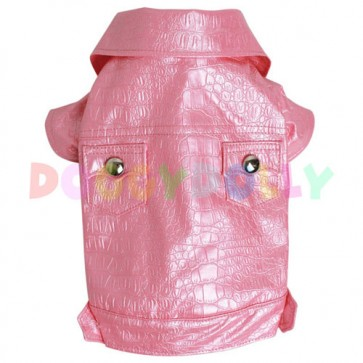 Cazadora Pink Glamour para mascotas