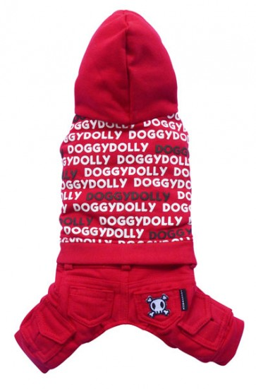 Chándal rojo Doggydolly