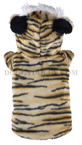 Disfraz de tigre para mascotas