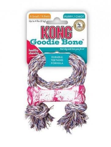 Kong Goodie Bone con cuerda