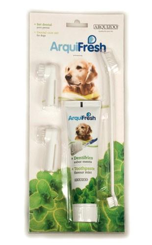 Set higiene dental para perros