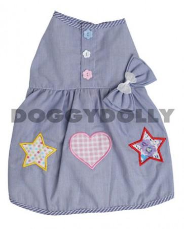 Vestido verano para perro Blue summer