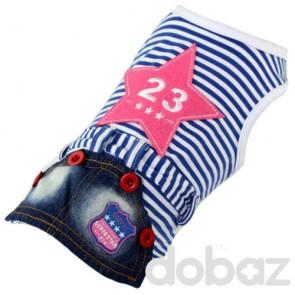 Camiseta y falda para mascotas Dobaz
