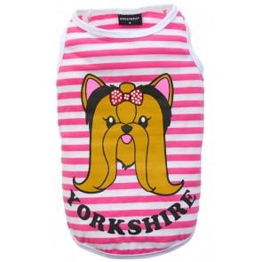 Camiseta para yorkshire
