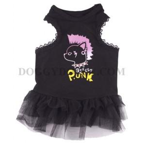 Vestido Punk para mascotas