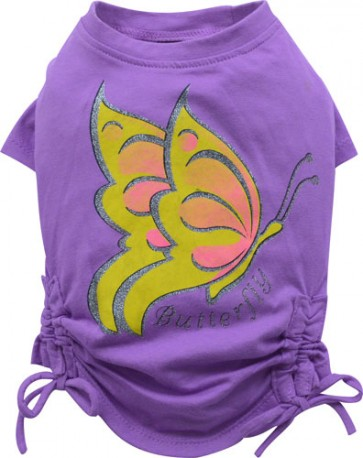 Camiseta lila Butterfly