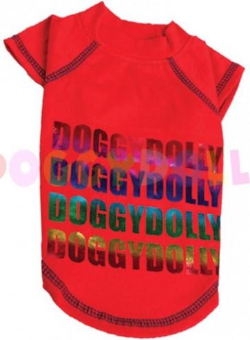 Camiseta roja Doggydolly