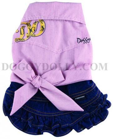 """Conjunto camisa """"D&D"""" con falda"""