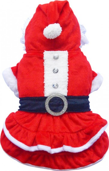 Disfraz Santa claus para mascotas