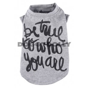 Camiseta be true de Doggydolly