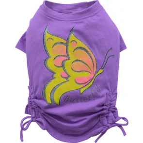 Camiseta lila Butterfly