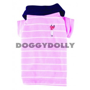 Polo rosa fashion para perros