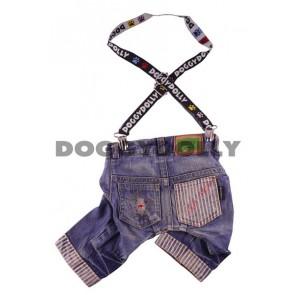 Pantalones tejanos con tirantes Doggydolly