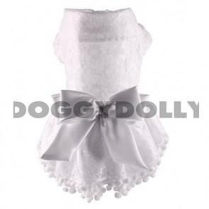 Vestido de boda para perros y mascotas