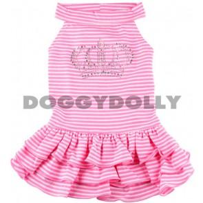 Vestido con pedrería Doggydolly